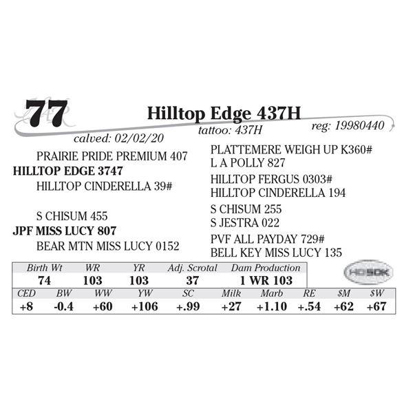 Hilltop Edge 437H