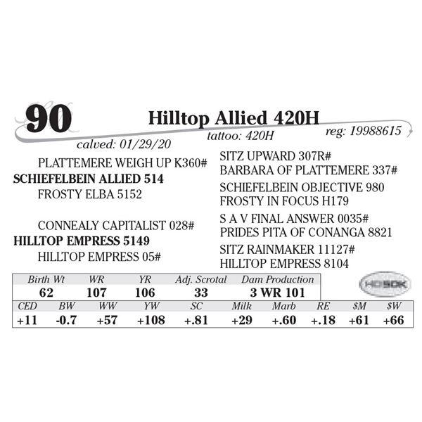 Hilltop Allied 420H