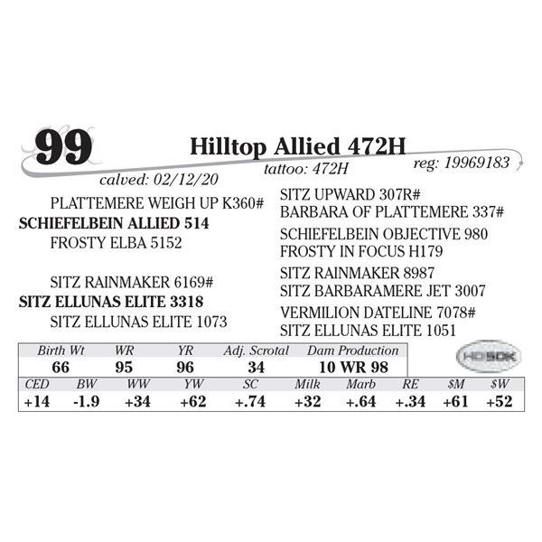 Hilltop Allied 472H
