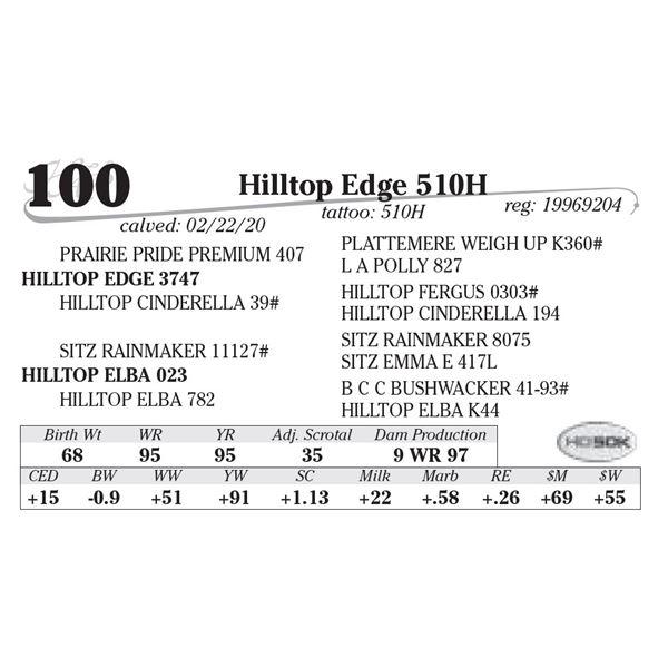Hilltop Edge 510H