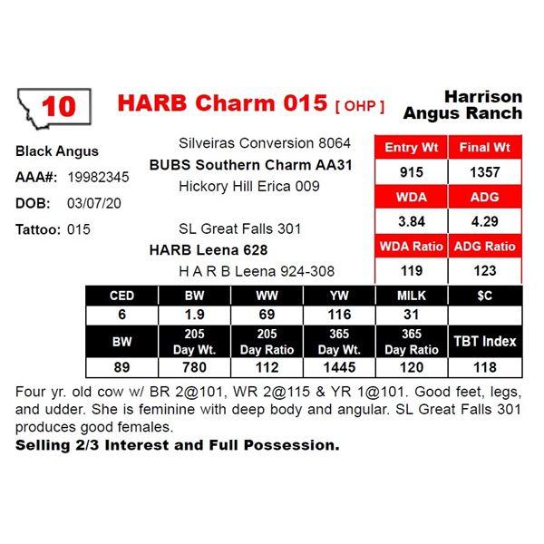 HARB Charm 015