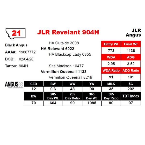 JLR Revelant 904H