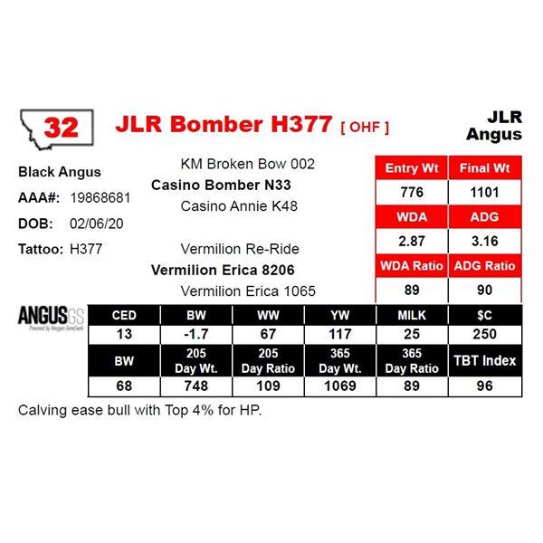 JLR Bomber H377