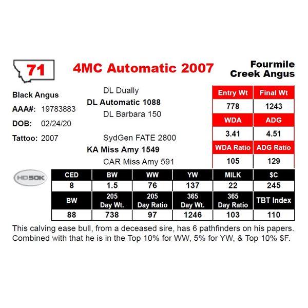4MC Automatic 2007