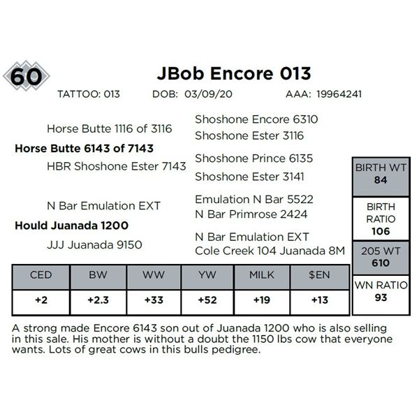 JBob Encore 013