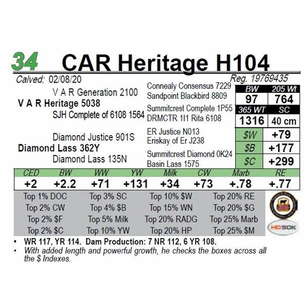 CAR Heritage H104