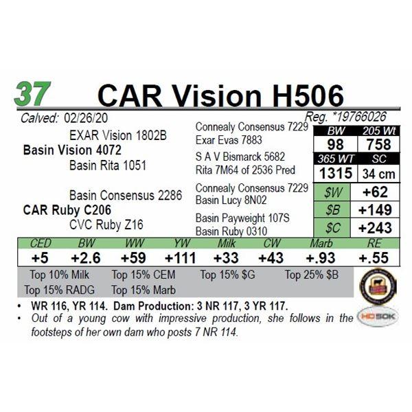 CAR Vision H506