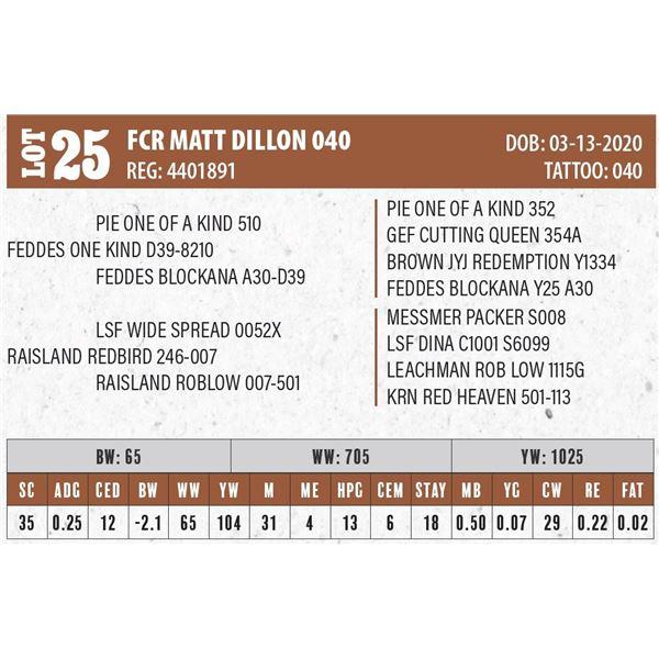 FCR MATT DILLON 040
