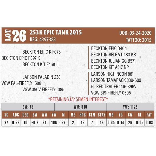 253K EPIC TANK 2015