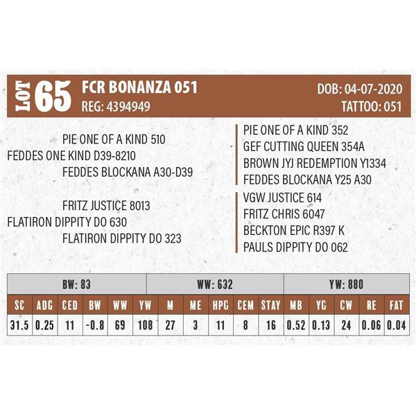 FCR BONANZA 051