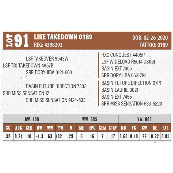 LIKE TAKEDOWN 0189