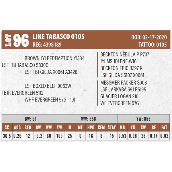 LIKE TABASCO 0105