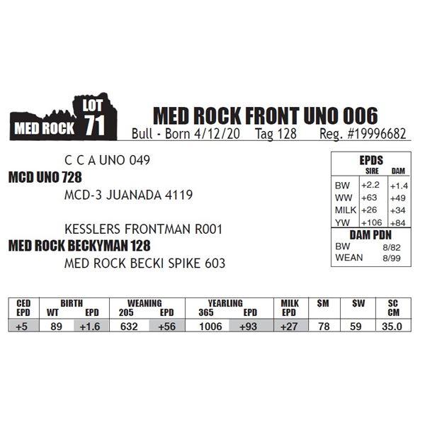MED ROCK FRONT UNO 006