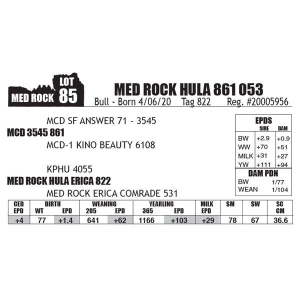 MED ROCK HULA 861 053