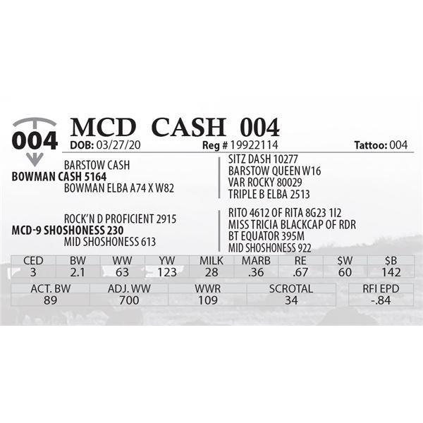 MCD CASH 004