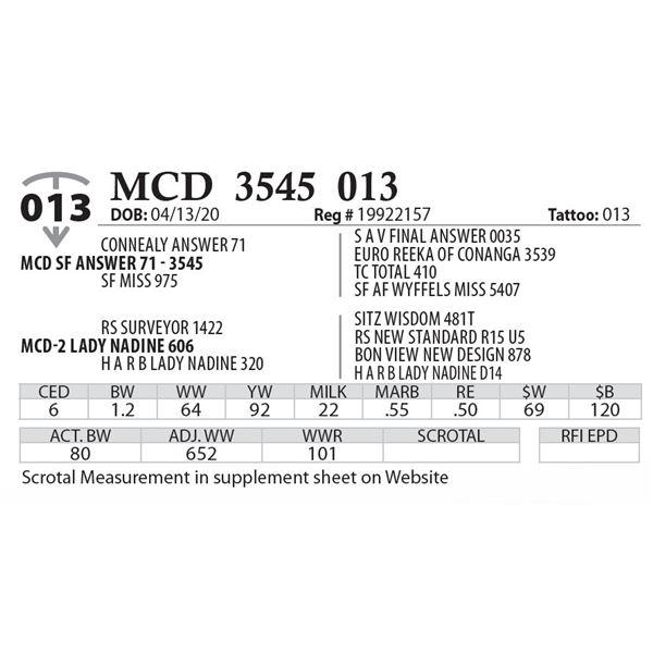 MCD 3545 013