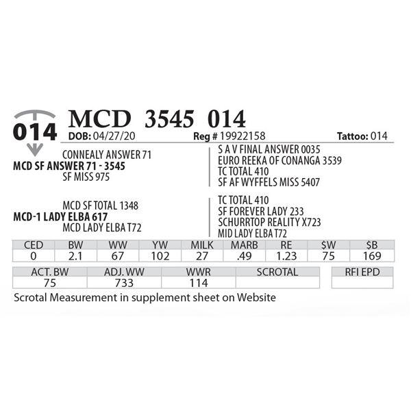 MCD 3545 014