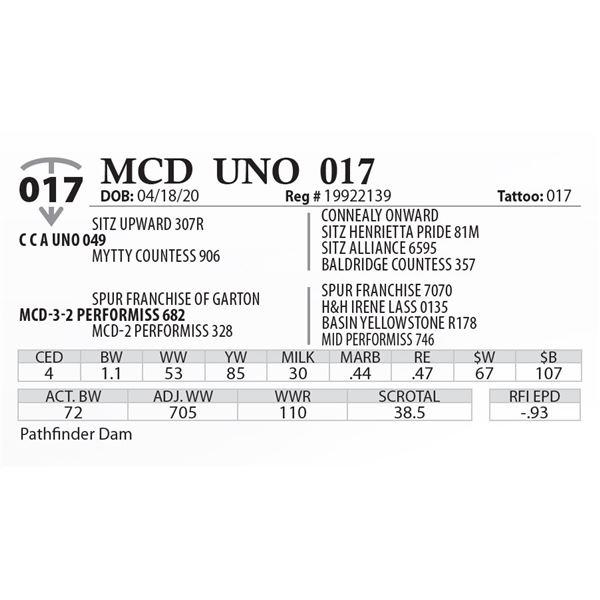 MCD UNO 017