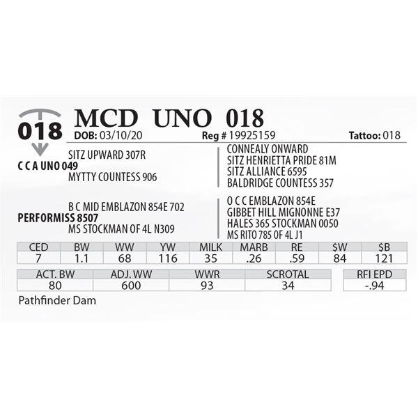 MCD UNO 018