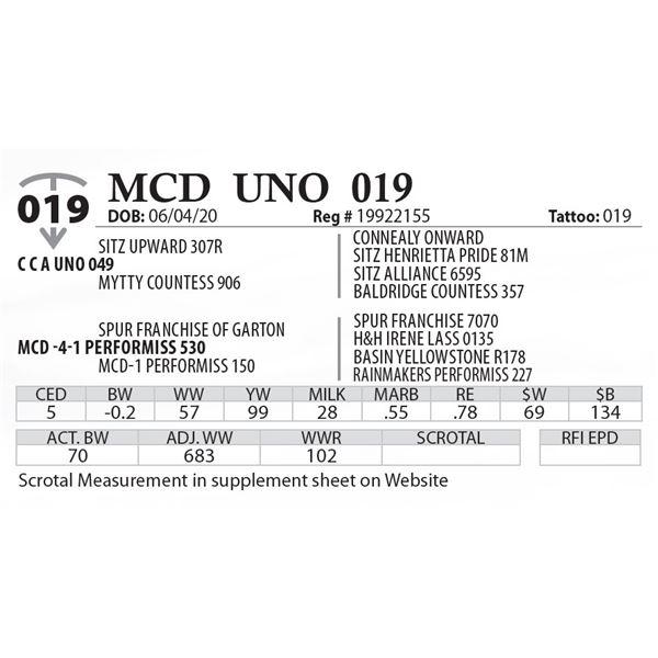 MCD UNO 019