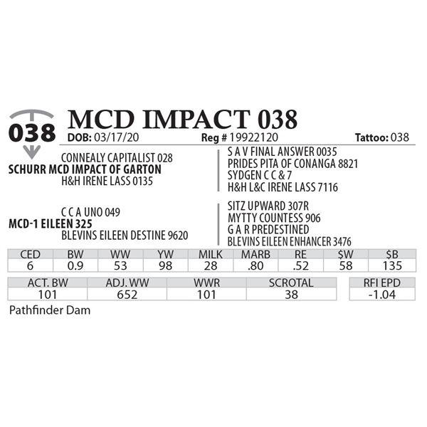 MCD IMPACT 038