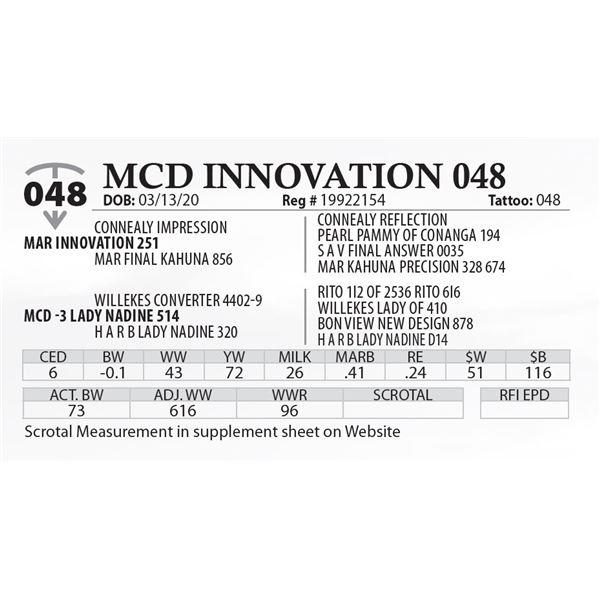 MCD INNOVATION 048