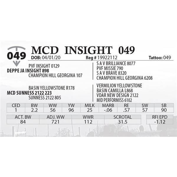 MCD INSIGHT 049