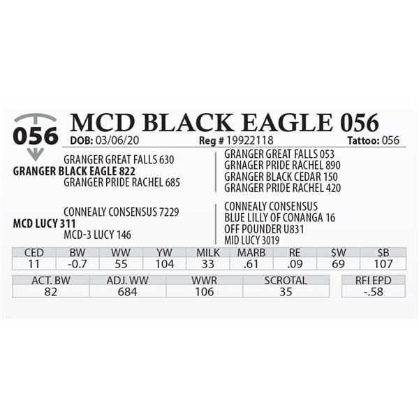 MCD BLACK EAGLE 056