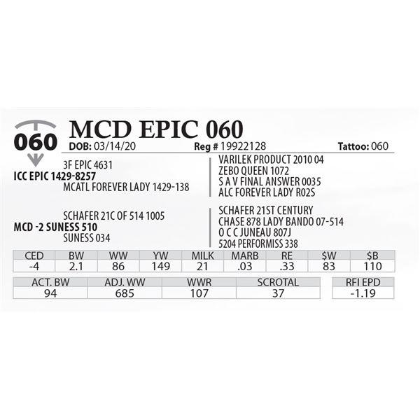 MCD EPIC 060