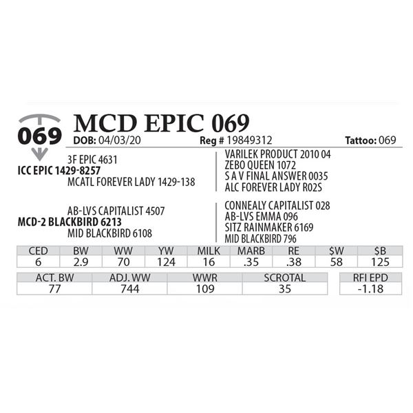 MCD EPIC 069