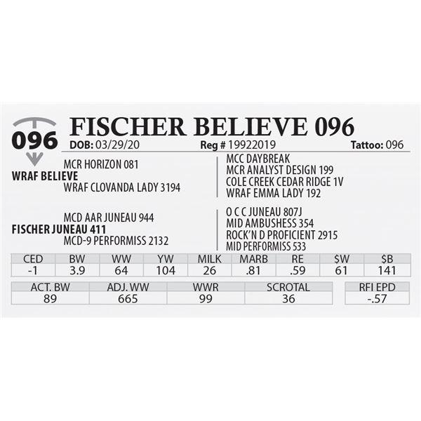 FISCHER BELIEVE 096