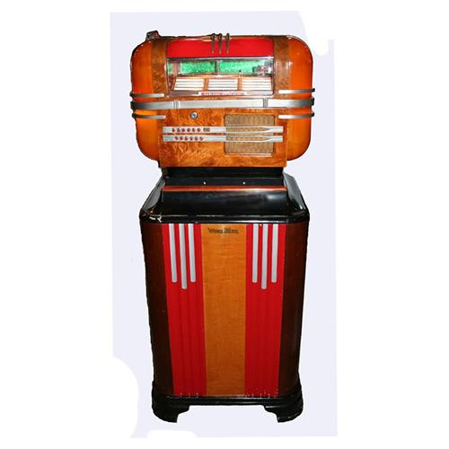 Wurlitzer Model 41 Counter Jukebox and Stand