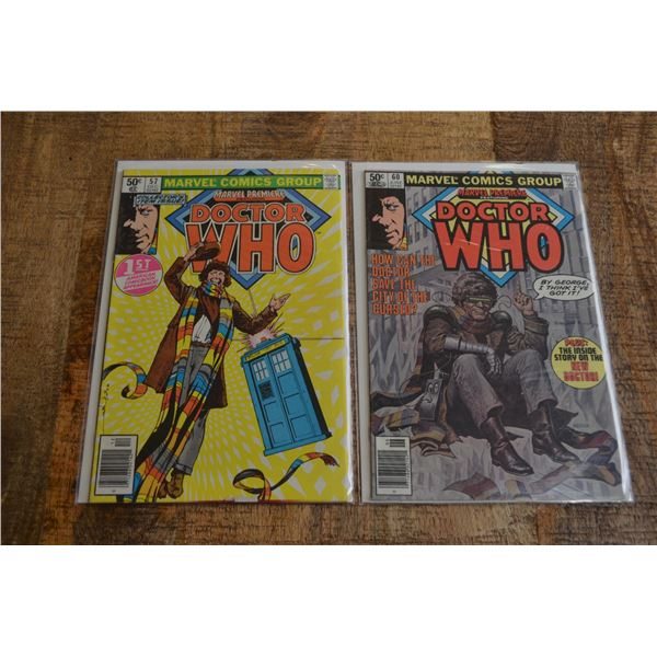 Marvel Premiere Dr Who 57 60