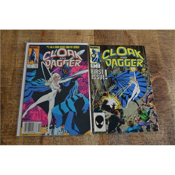 Cloak and Dagger 1 issues