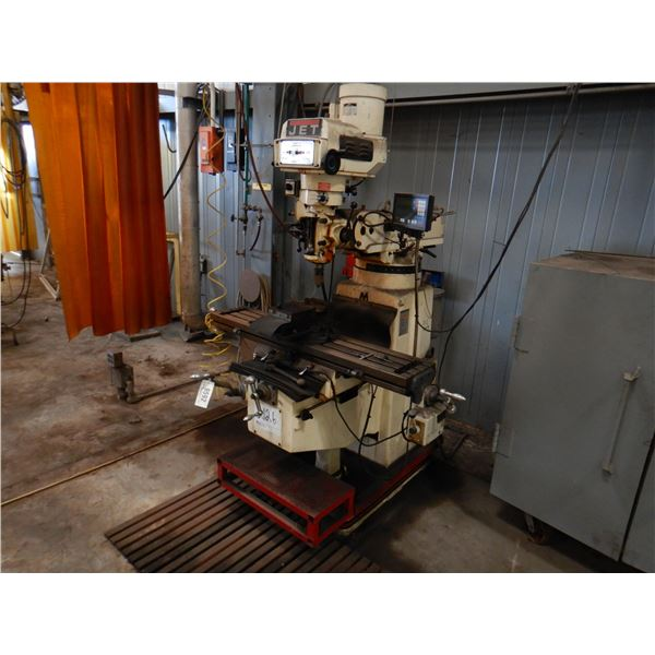 JET TURRET ZTM-1050 MILLING MACHINE Shop Equipment