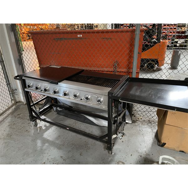 BAKERS AND CHEFS (8) BURNER GRILL/STOVETOP Miscellaneous