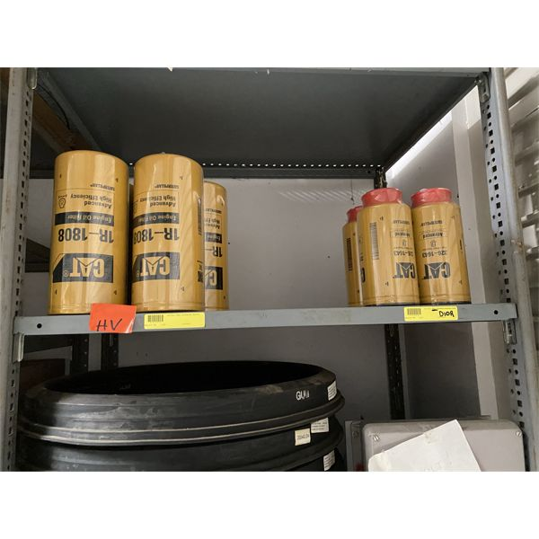 CATERPILLAR FILTERS AND PARTS Shop Equipment