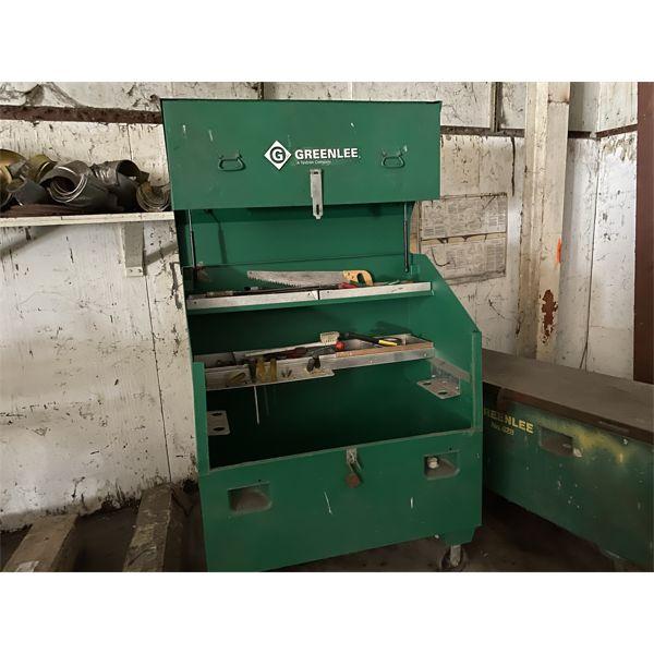 GREENLEE JOB BOX Shop Equipment