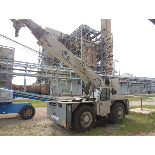 2008 GROVE YB7722 Yard / Carry Deck Crane