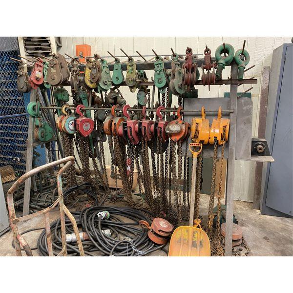 CHAIN HOIST Shop Equipment
