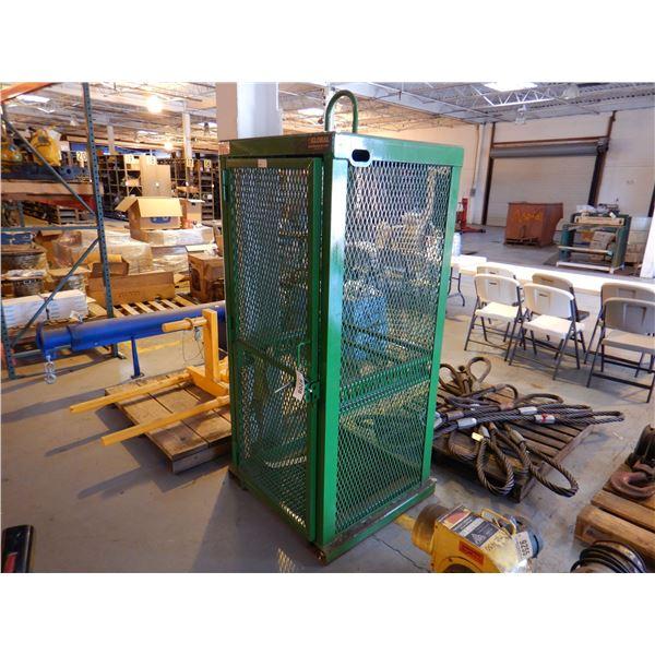 SAF-T-CART BOTTLE CAGE Shop Equipment