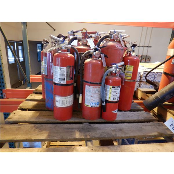 FIRE EXTINGUISHERS Shop Equipment