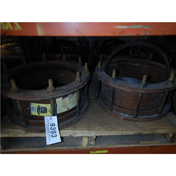 CAST PIPE COUPLINGS