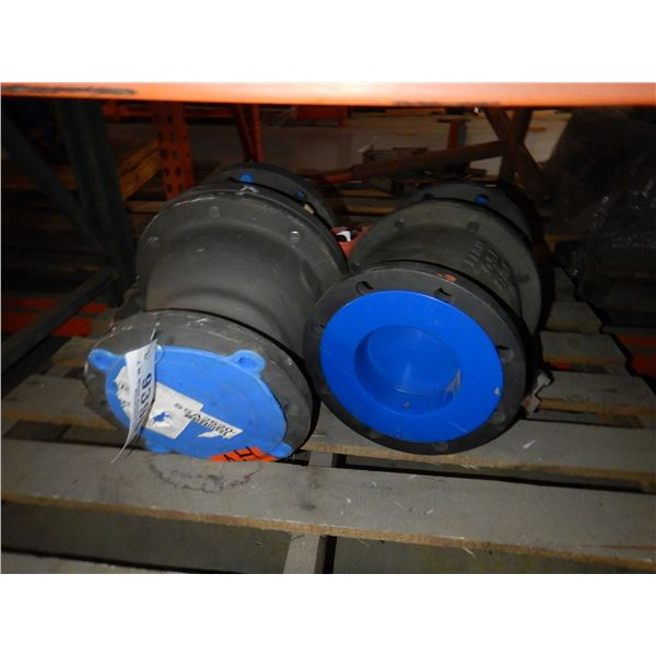 PRESSURE RELIEF COUPLERS