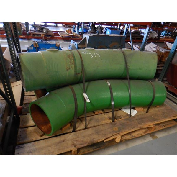 ANGLED CAST PIPE