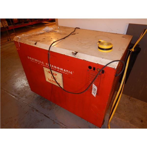 GRAYMILLS CLEAN-O-MATIC PARTS WASHER Shop Equipment