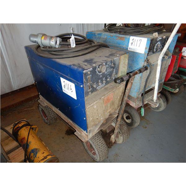MILLER DIALARC HF WELDER Welding Equipment