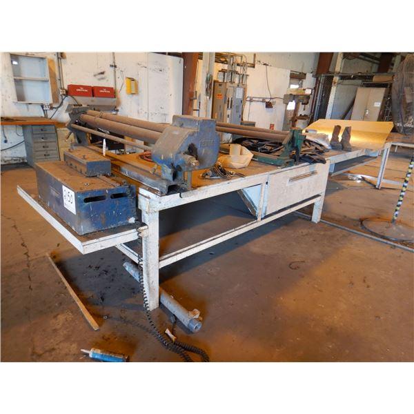 PEXTO SHEET METAL ROLLER Shop Equipment