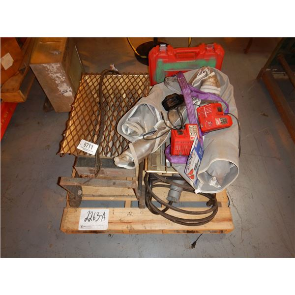 (2) ELECTRIC SHOP HEATERS