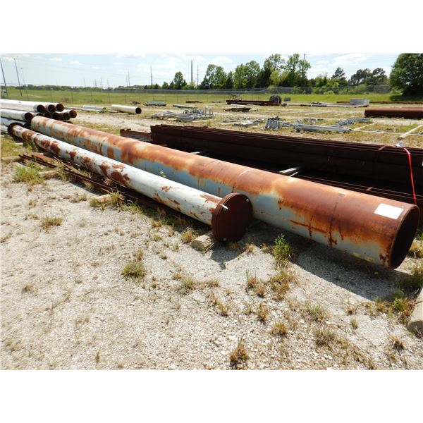 """42' x 24"""" PIPE/ 37' x 12"""" PIPE"""